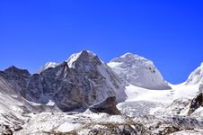 Free Beauty Of Snow Laden Peaks Stock Photos - 17249053