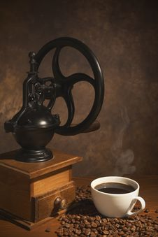 Free Coffee Grinder Royalty Free Stock Photos - 17249158