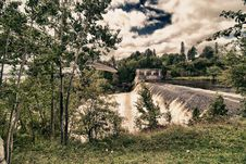 Montmorency Falls, Quebec Royalty Free Stock Photography