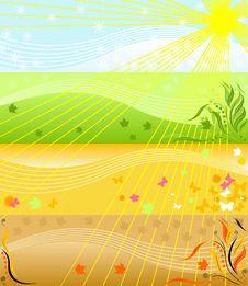 Free Four Seasons Royalty Free Stock Image - 17249616
