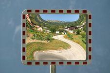 Landscape Mirror Stock Image