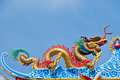 Free Golden Dragon Statue Royalty Free Stock Photos - 17251578