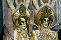 Free Venetian Couple Golden Mask Stock Photos - 17254563