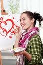 Free Female Painter Stock Photo - 17256560