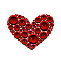 Free Heart Of Buttons Royalty Free Stock Photo - 17259285