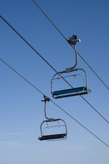 Free Chairlift Royalty Free Stock Image - 17251656