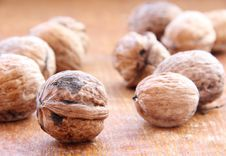 Free Macro View Of Walnut Stock Images - 17251754