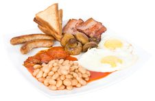 Free Traditional English Breakfast Royalty Free Stock Photos - 17252548