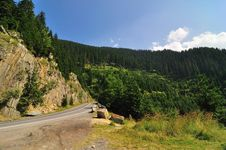 Free Road In The Mountains Stock Image - 17252691