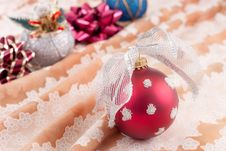 Free Christmas Ornaments Stock Photography - 17252842