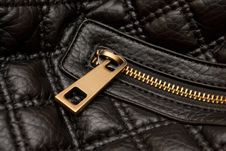 Free Leather Bag Zipper Stock Photo - 17252890