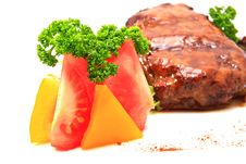 Free Meat And Vegetables Stock Photos - 17253283