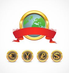 Free World Currency Royalty Free Stock Photography - 17254067