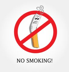 Free No Smoking Royalty Free Stock Images - 17254069