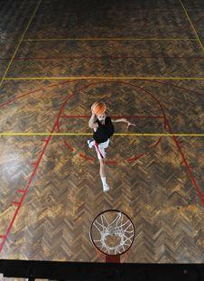 Free Magic Basketball Stock Photos - 17254163