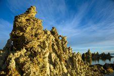 Free Tufas At Mono Lake With Reflection Stock Photography - 17254722