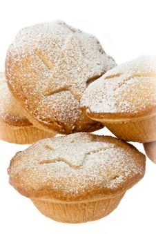 Free Mince Pies With Icing Sugar Dusting Stock Photos - 17254853