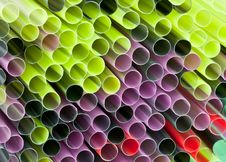 Bunch Of Straws Royalty Free Stock Photography