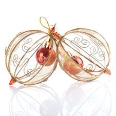 Free Christmas Baubles Royalty Free Stock Photos - 17256348