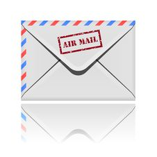 Free Envelope Icon Royalty Free Stock Photography - 17256437