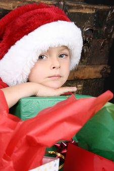 Free Christmas Boy Royalty Free Stock Images - 17256739