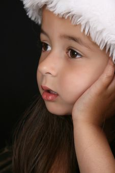 Free Christmas Girl Royalty Free Stock Photo - 17256745