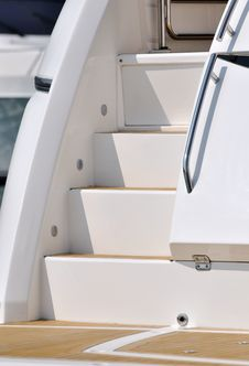 Free Stair Of Yacht Royalty Free Stock Photo - 17257035