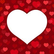 Free Love Card. Vector Royalty Free Stock Photo - 17257055