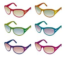 Free A Collection Of Sunglasses Stock Images - 17257644