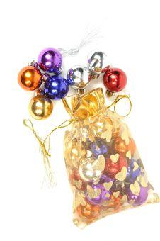 Free Christmas Balls Royalty Free Stock Image - 17258496