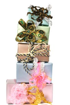 Free Gift Boxes Royalty Free Stock Image - 17258526