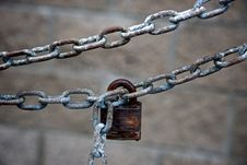 Free All Chained Up Royalty Free Stock Photo - 17259015