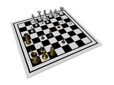 Free Chessboard Royalty Free Stock Photos - 17259388