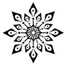 Free Snowflake Winter  Illustration Stock Images - 17259794