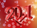 Free 2011 Red  Background Royalty Free Stock Image - 17263426