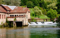 Free A Weir In The River Stock Photos - 17265593