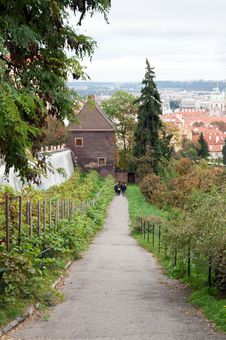 Free View Of Prague From The Top Royalty Free Stock Images - 17260059