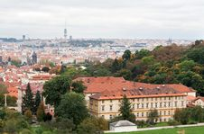 Free View Of Prague From The Top Stock Photography - 17260072