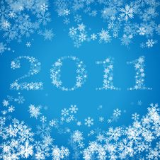 2011 New Year Greeting Card Stock Images