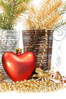 Free Christmas Still Life Stock Image - 17260611
