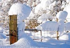 Free Snow Post Stock Photos - 17260643