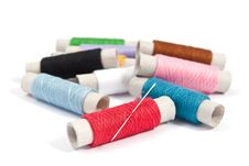 Free Sewing Thread Royalty Free Stock Photos - 17261218
