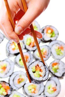 Free Japanese Sushi Royalty Free Stock Image - 17261726