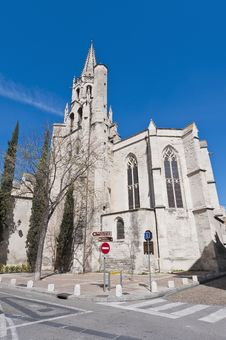 Free Saint Pierre Church At Avignon, France Royalty Free Stock Image - 17262846