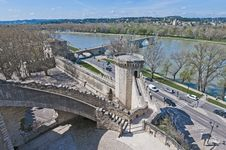 Free Chiens Tower At Avignon, France Royalty Free Stock Image - 17262966