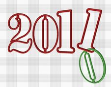 Free 2011 Red  Background Stock Images - 17263274