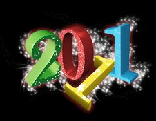 Free 2011 Colorful Background Royalty Free Stock Photos - 17263378