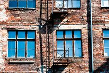 Blue Windows Royalty Free Stock Images