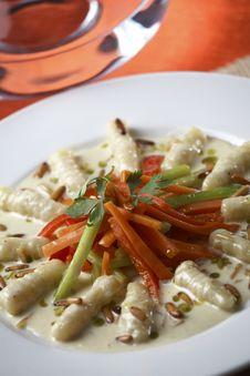 Gnocchi Royalty Free Stock Photos
