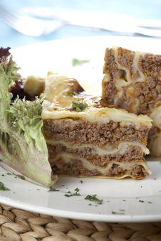 Free Lasagna Bolognese Stock Photography - 17264192